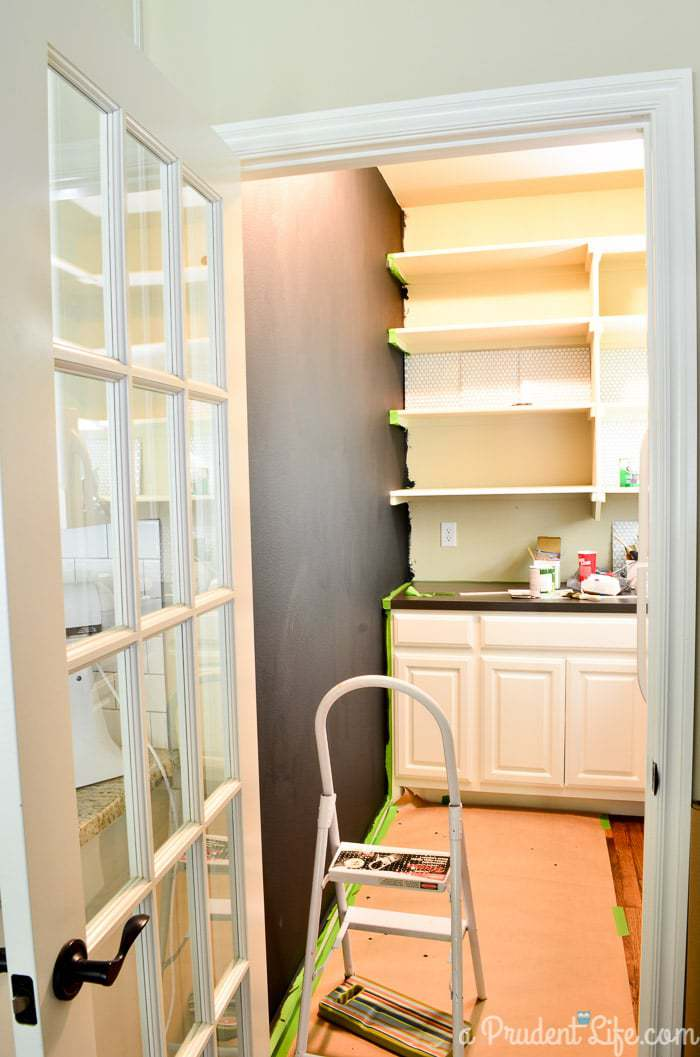 Pantry Makeover - One Room Challenge Week 2 Progress Report