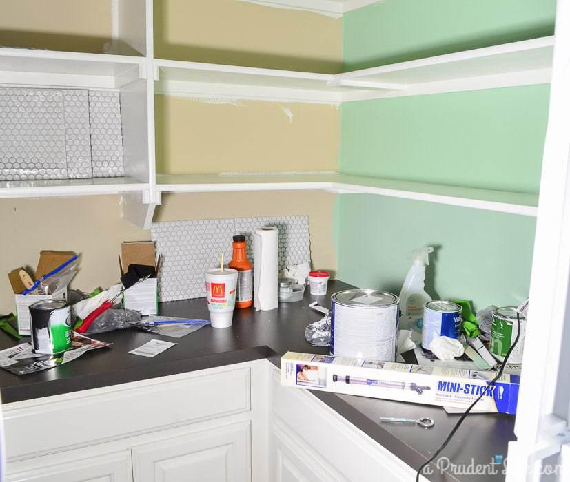 Pantry Makeover - One Room Challenge Week 2 Progress Report