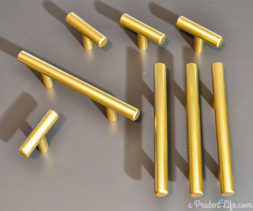 Gold Cabinet Hardware
