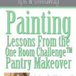 Interior Painting Lessons Learned from A Prudent Life