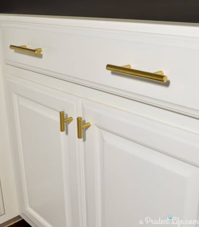 Gold Cabinet Pulls & Knobs
