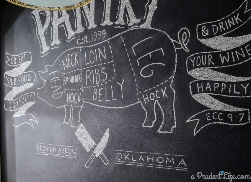 Custom Chalkboard Art