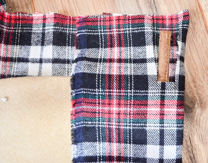 Tartan Christmas Stocking DIY