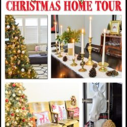 Great blend of rustic, vintage, and modern Christmas ideas!