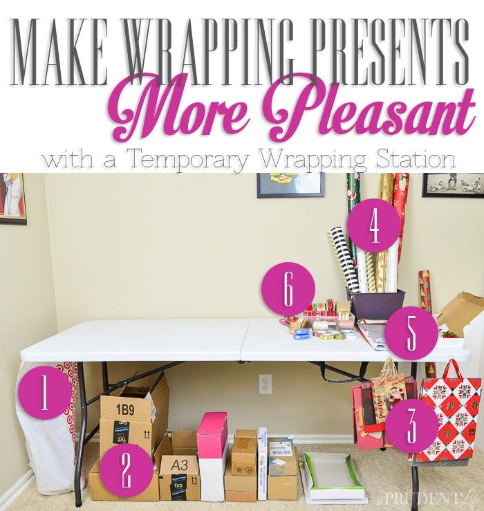 Do Wrapping Materials Take Over Your House This Time Of Year? I Took  Control Of