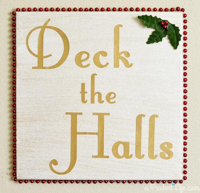 DIY Gold Christmas Decor!