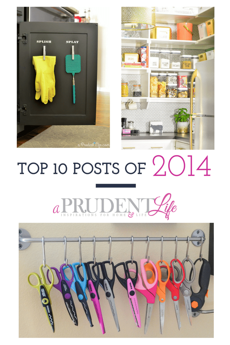 Most popular posts of the year from A Prudent Life - have you seen all 10?