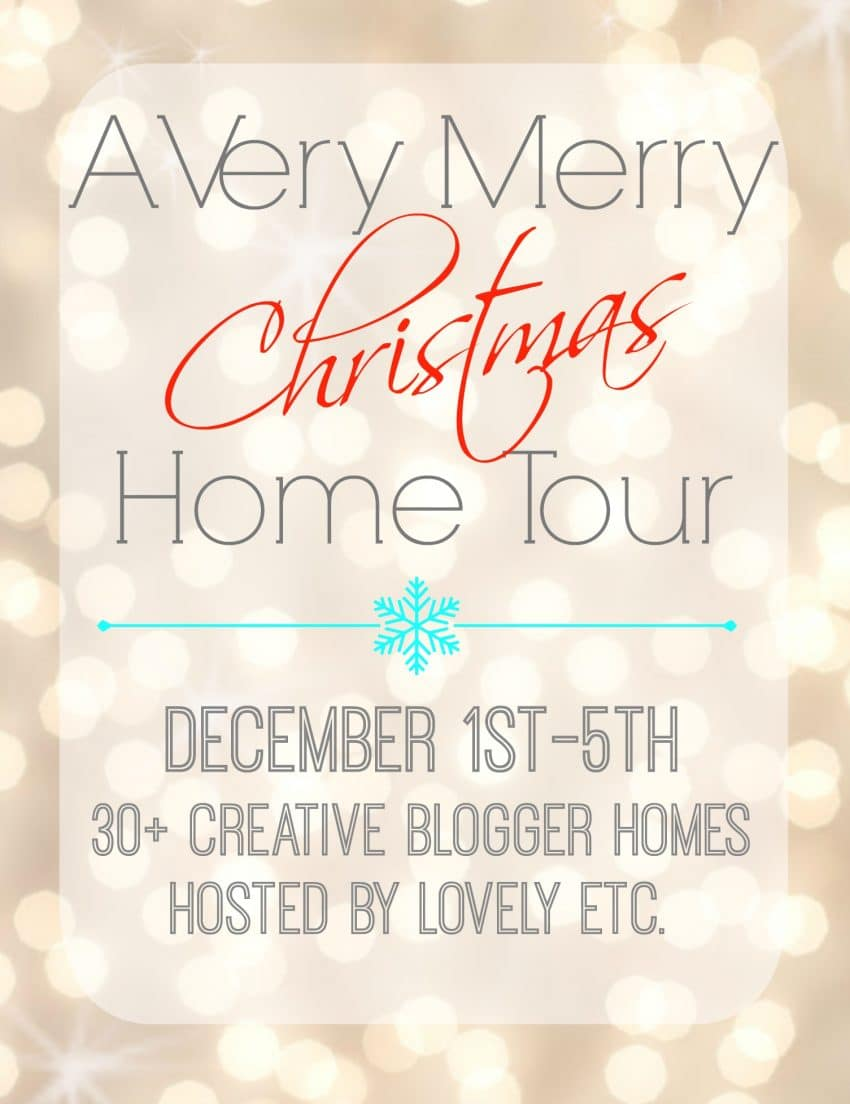 Very Merry Christmas Home Tours
