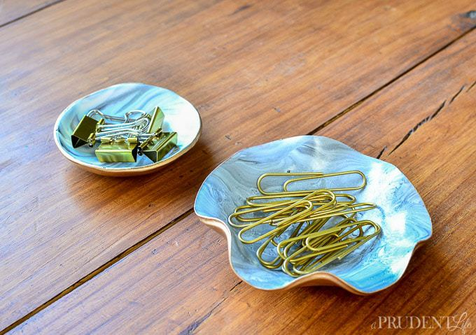 Pretty paperclip storage!