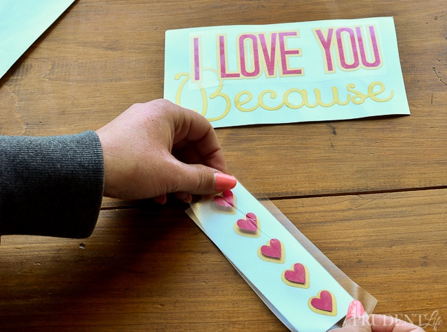 I Love You Because Dry Erase Sign-14
