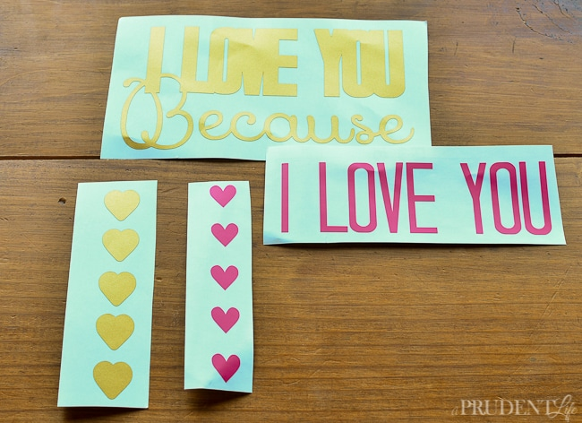 I Love You Because Dry Erase Sign-8