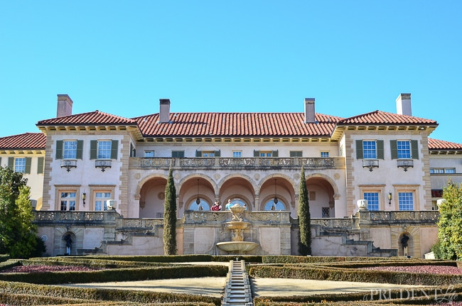 Philbrook Museum in Tulsa - Former home of Waite Phillips