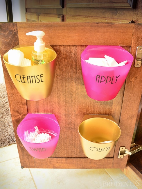 Bathroom organization is easy with this IKEA hack!