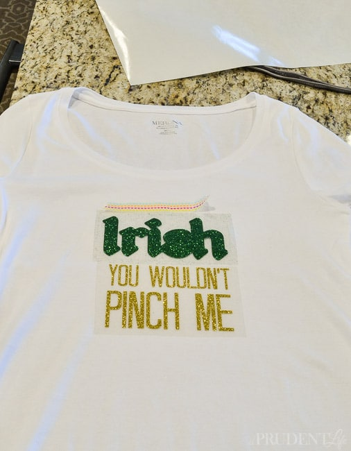 DIY St. Patrick's Day Shirt-4