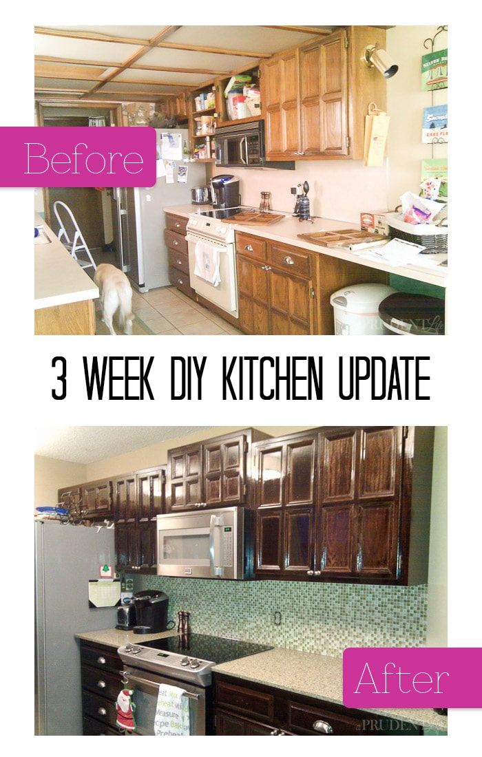 We brought our 1978 kitchen into modern times in THREE weeks. Why didn't we do this sooner?