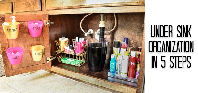 bathroom organization storage ideas - Bathroom Under Sink Storage Ideas