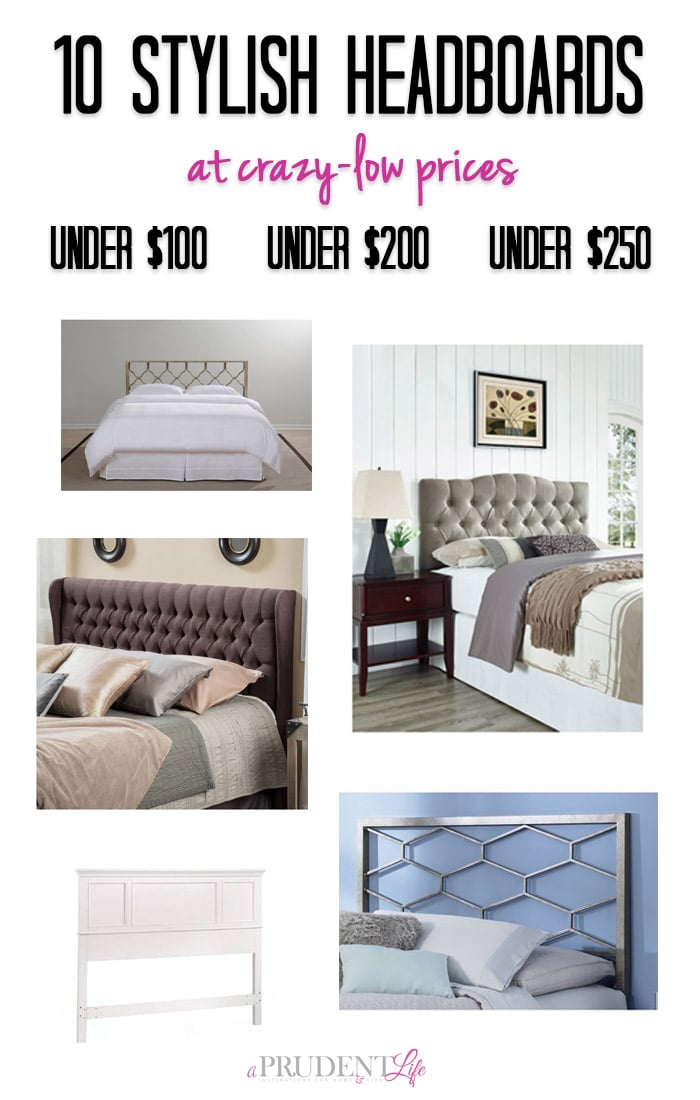 Before you DIY a headboard, check out these cheap options. I'm pinning this one for my bedroom makeover!