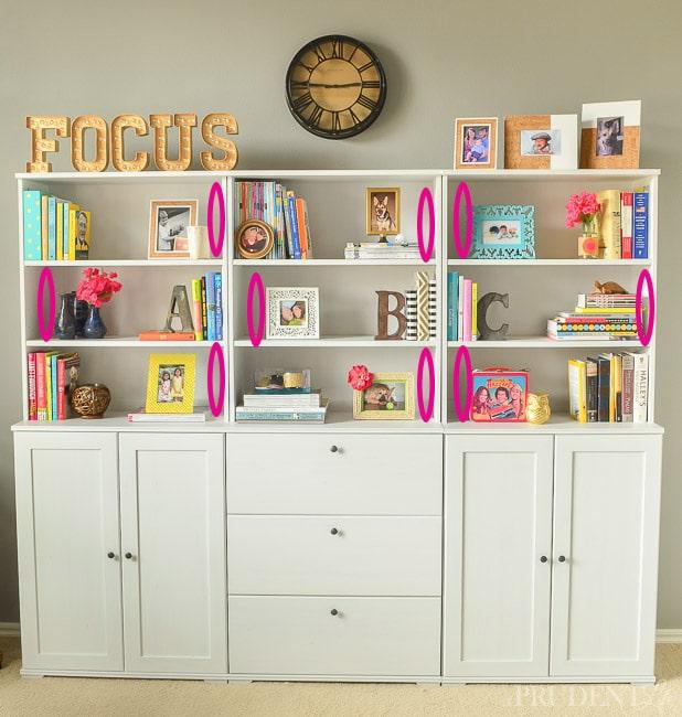 Decorate Your Shelves Like a Pro! - Polished Habitat