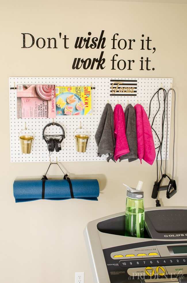 Organized Home Gym How To Turn A Corner To A Mini Gym