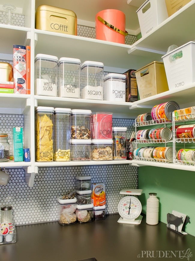 Pantry Organization Follow Up