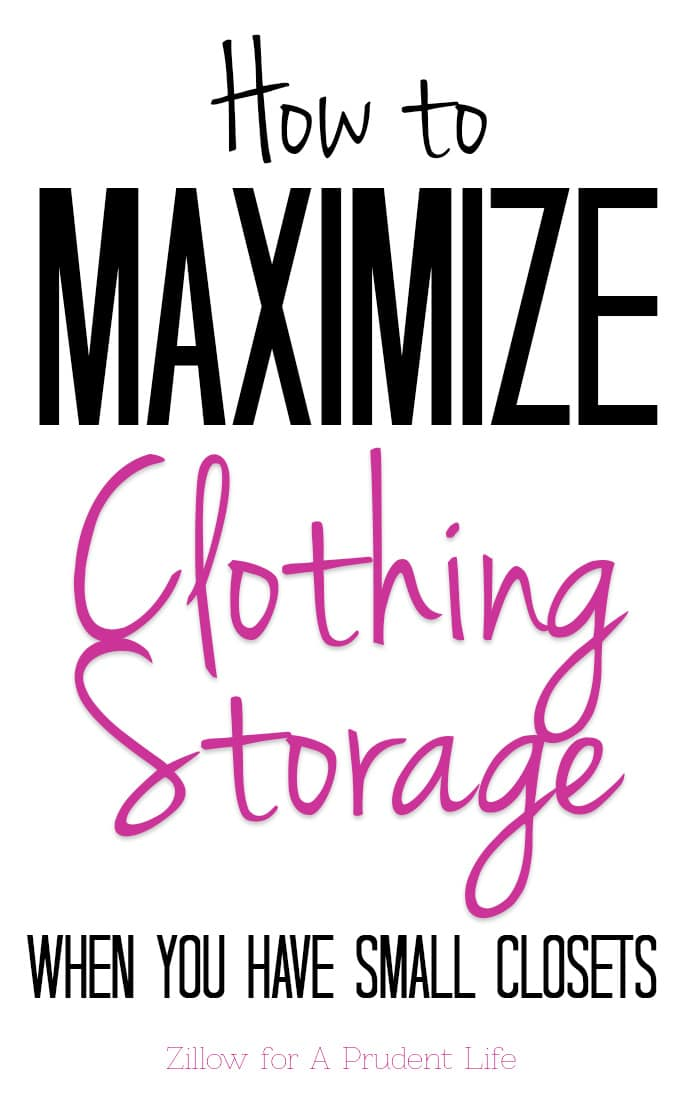 Struggle with small closets? Not sure how to store all your clothes?  Read these creative ideas on maximizing clothing storage in your home.