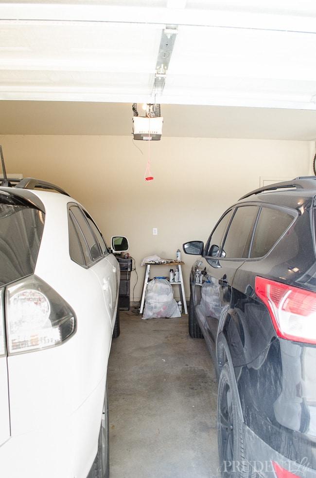Garage Organization  BEFORE_-3