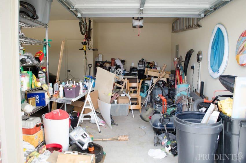 Garage Organization  BEFORE_-5