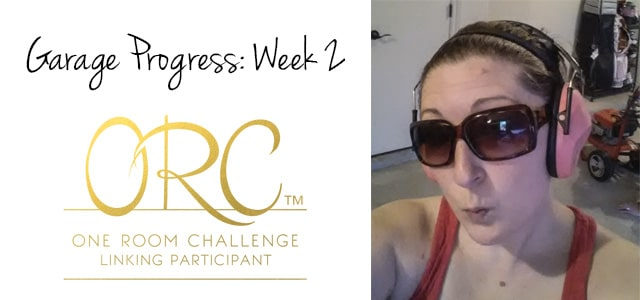 Bringin' Sexy (or SWEAT) Back to the Garage Week 2 (One Room Challenge)