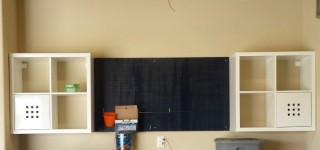 Building a workbench from IKEA furniture