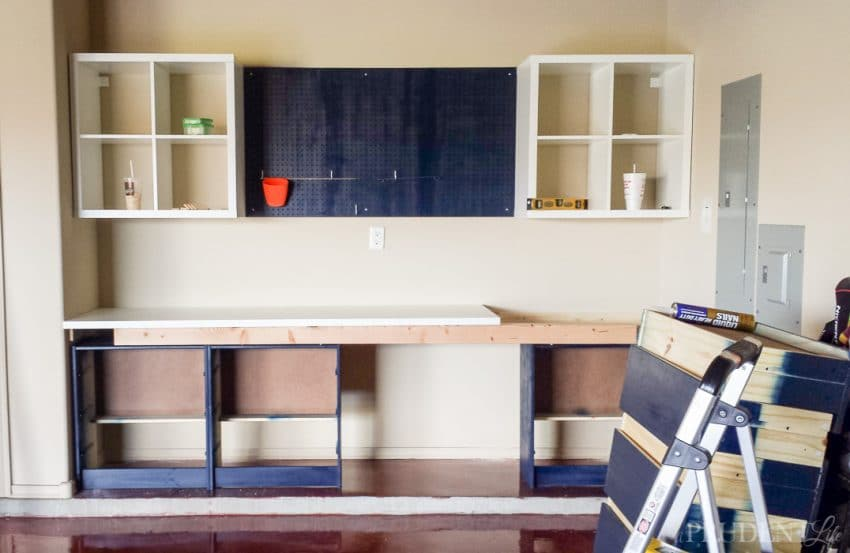 Using IKEA Pieces Can Help You Create Your Dream Garage Workbench On A Budget Adding