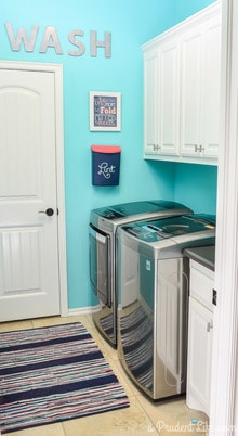 $89 Laundry Room Makeover
