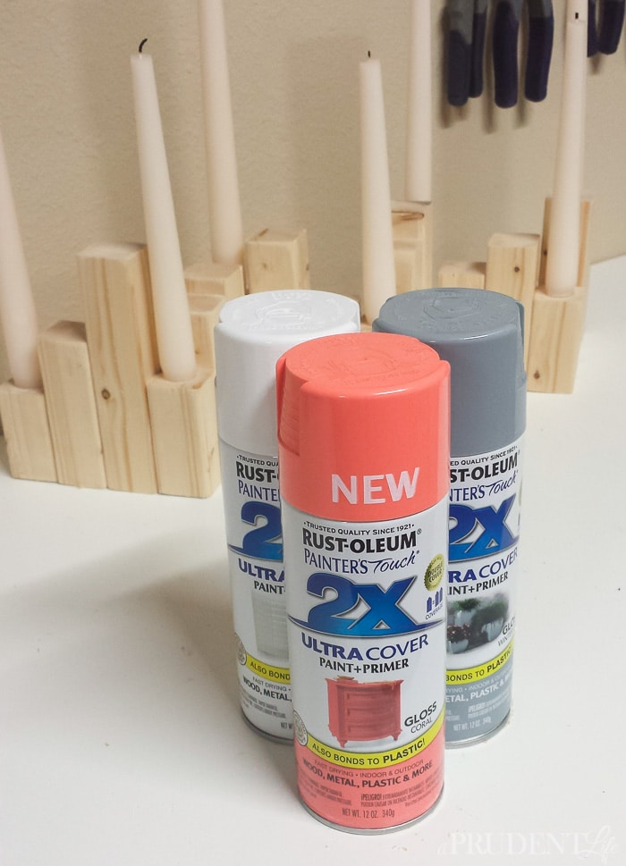 Can't get enough of this new coral spray paint from Rust-Oleum!