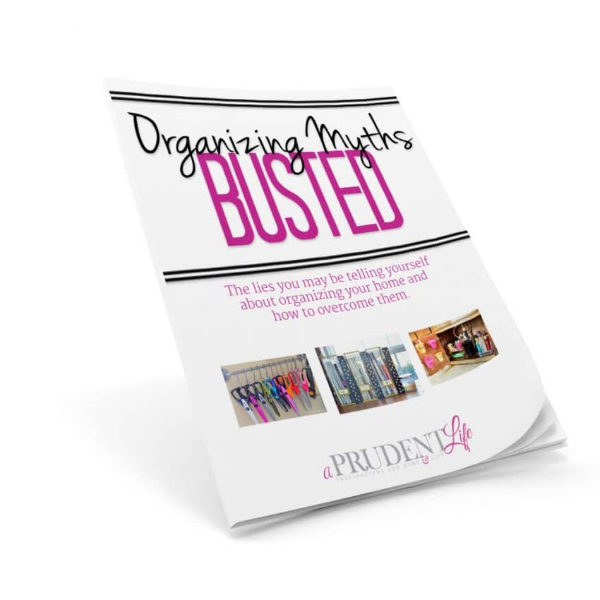This booklet will change the way you think about organizing your home!