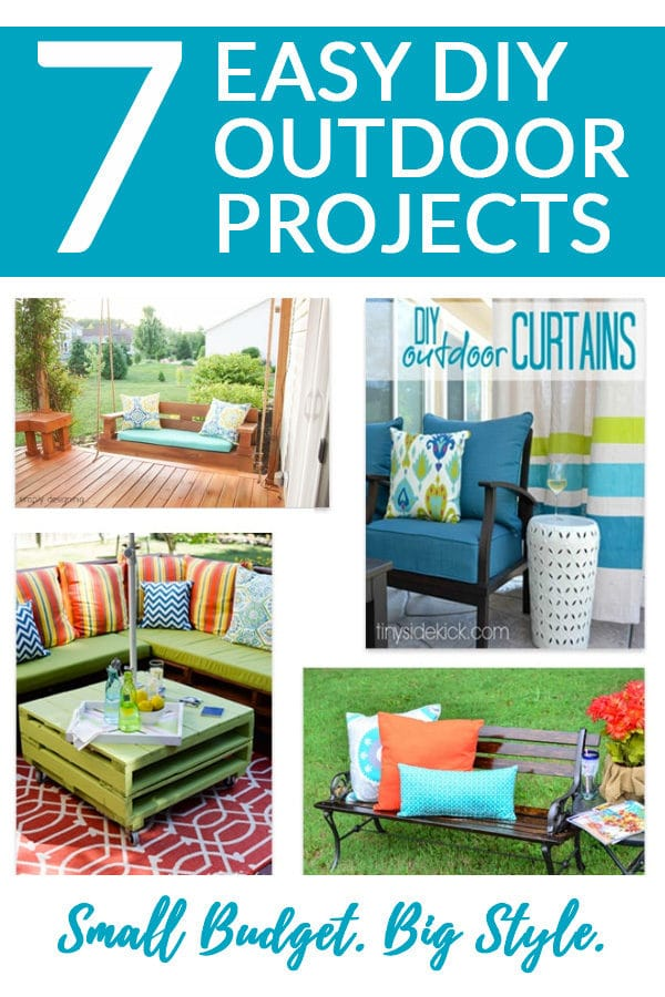 7 Easy DIY Outdoor Projects