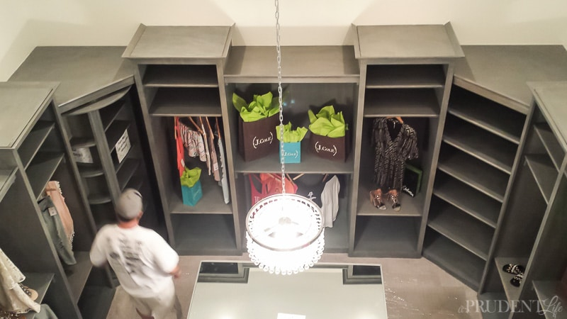 Whoa - this closet is two stories tall!