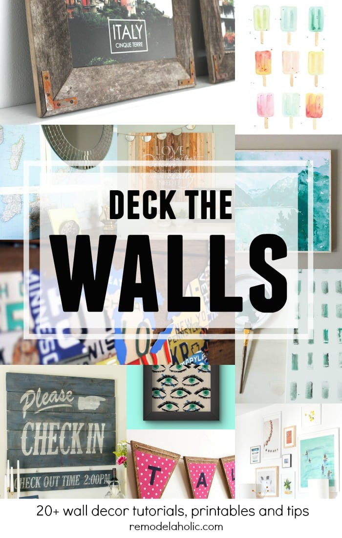 Tons of affordable ideas to fill your bare walls in style.