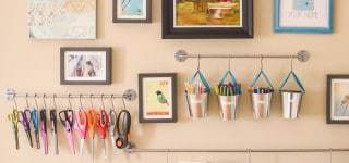 5 Tips For Using Organization As Decor {Guest Post on TinySidekick)