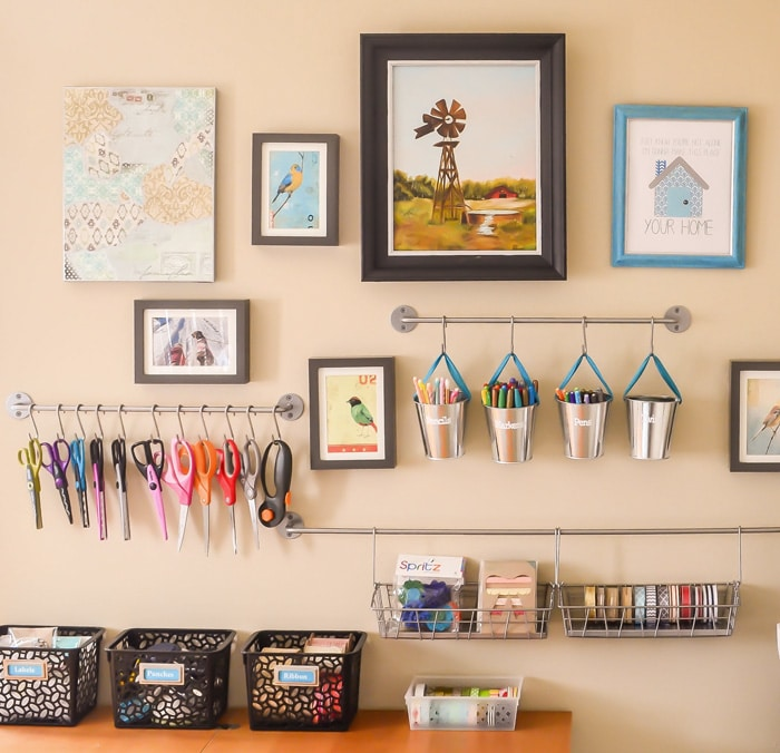 5 Tips For Using Organization As Decor {Guest Post on Hey There, Home)