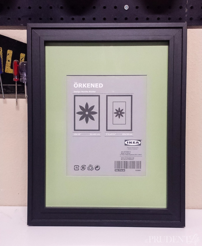 Turning any frame into a custom message board is easier than you think!