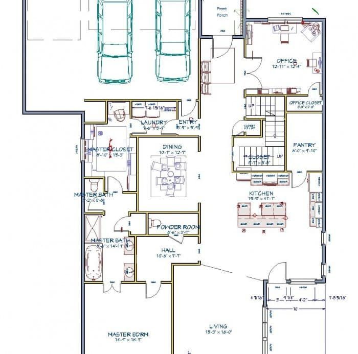 Polished Habitat Floor Plan