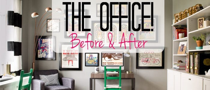 The Office is DONE {Before & After}