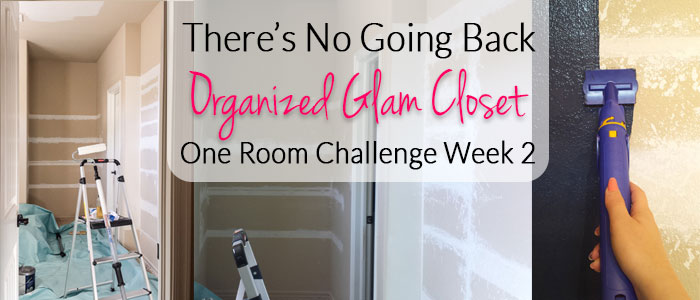 There's No Going Back Now {Organized Glam Closet Update ORC Week #2}