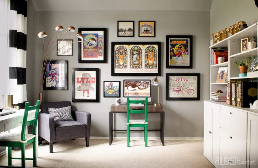 Shared home office makeover 4