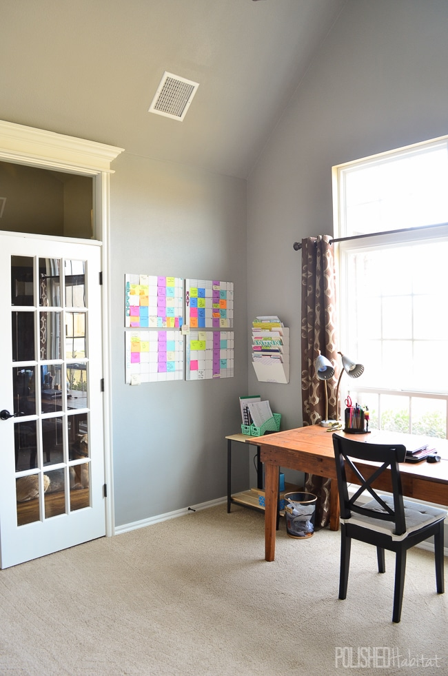 Home Office Before - Click to see the after photos!