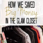 Closet Source List & How We Saved Big Money