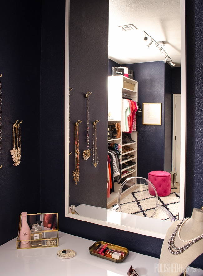This organized master closet was the ultimate DIY project. Click to see all the before & after photos!