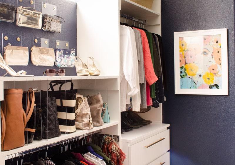 Organized Glam Master Closet