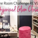 Glam Organized Master Closet – It's DONE! {One Room Challenge Week #6}