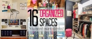 16 Organization Ideas for Almost Every Room in Your House - Control Clutter WITHOUT becoming a minimalist with the 16 most popular organizing ideas from Polished Habitat.