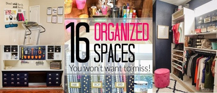 16 Organizing Ideas You Don't Want to Miss {Best of 2015}